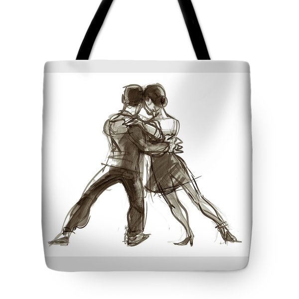 Tango Triangle Tote Bag