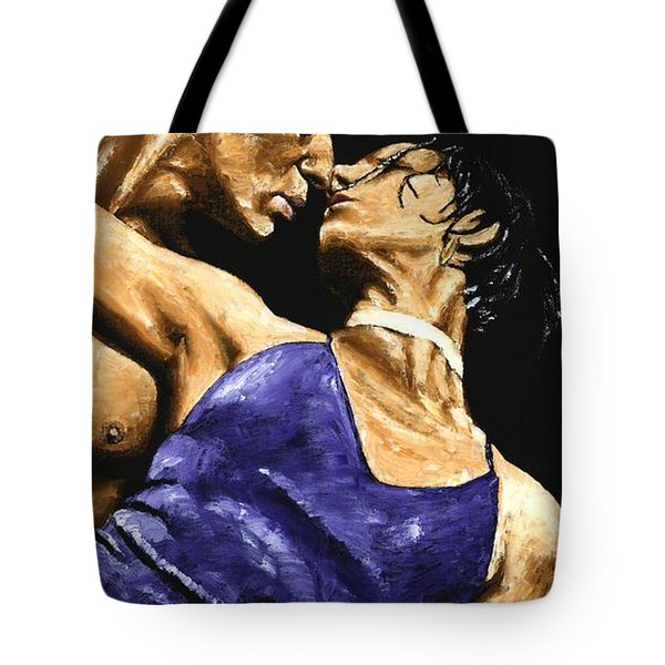 Tango Heat Tote Bag by Richard Young
