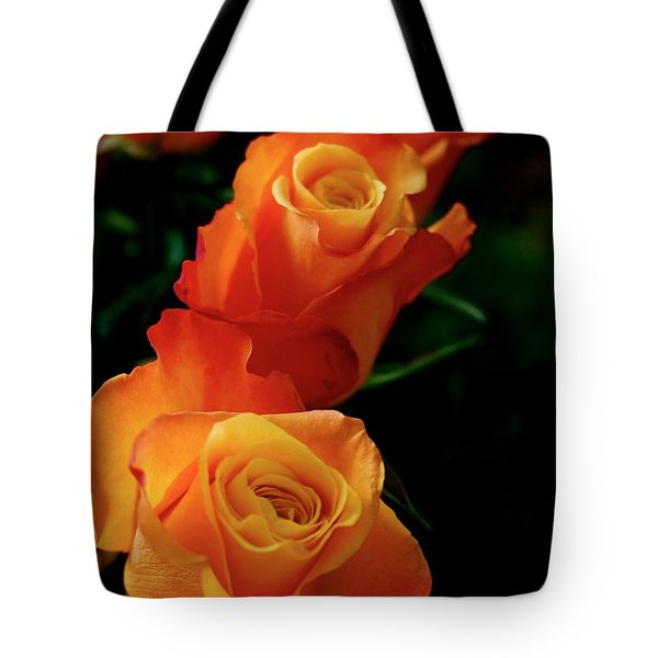 Tango In Three Tote Bag by Cathy Dee Janes