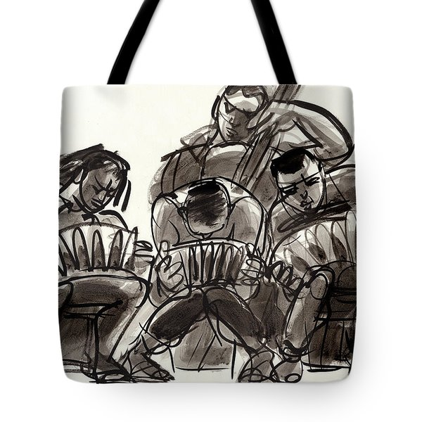 Tango Musicians Tote Bag