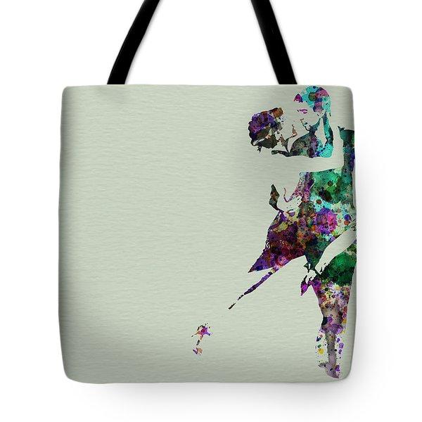 Tango Tote Bag by Naxart Studio