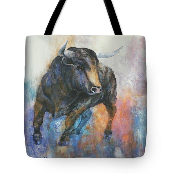 Tango On Wall Street Tote Bag