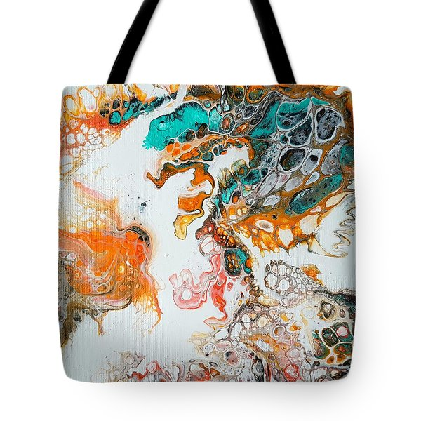 Tango With Turquoise Tote Bag