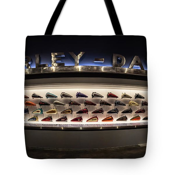 Tote Bag featuring the photograph Tank Wall by Randy Scherkenbach