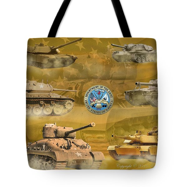 Tanks Four Tote Bag