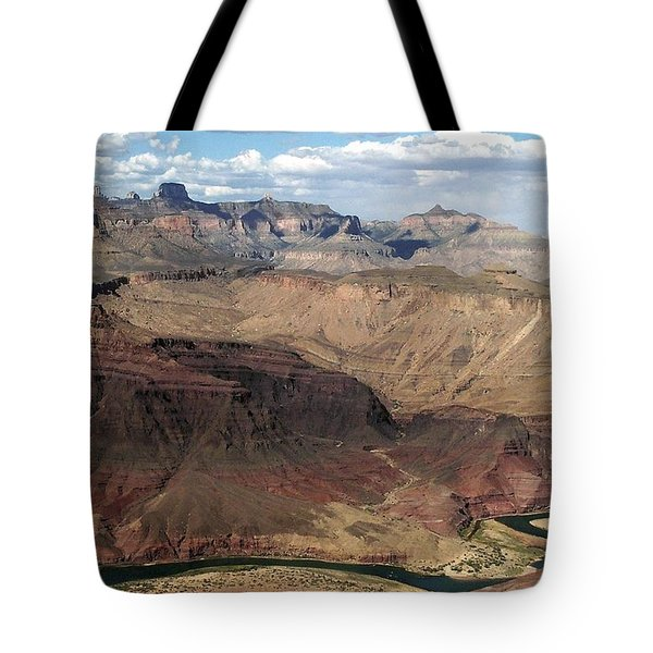 Tanner Rapids And The Colorado River Grand Canyon National Park Tote Bag