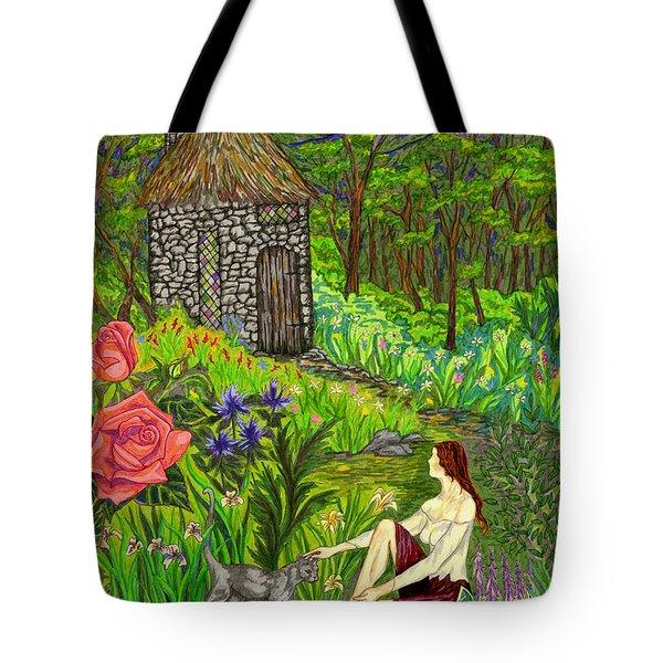 Tansel's Garden Tote Bag