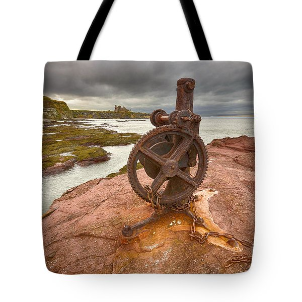 Tantallon Castle Views Tote Bag