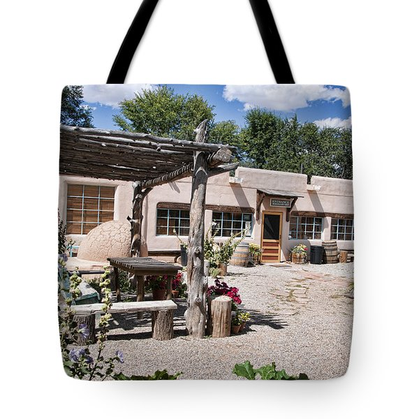 Taos Adobe Complex Tote Bag