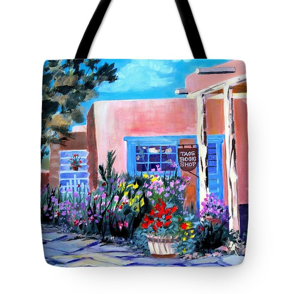 Taos Book Shop Tote Bag