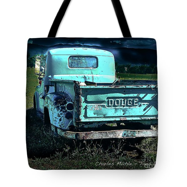 Taos Dodge Tote Bag