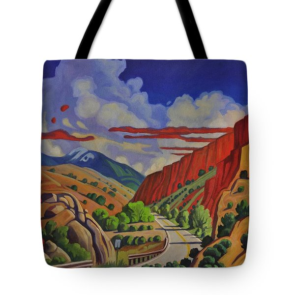 Taos Gorge Journey Tote Bag