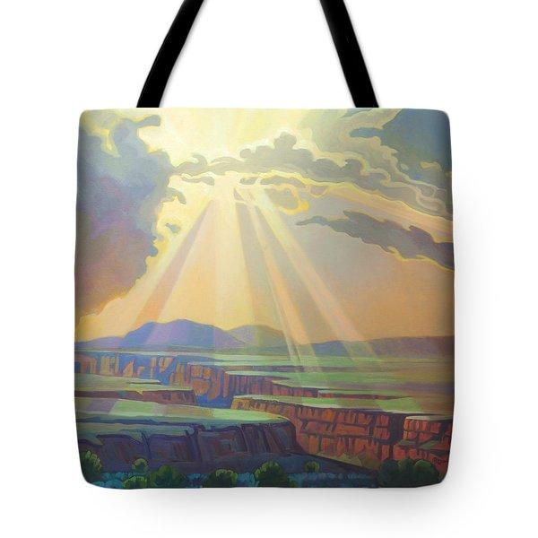 Taos Gorge Light Tote Bag