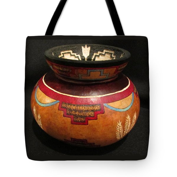 Taos In And Out #go53 Tote Bag by Barbara Prestridge