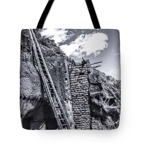 Taos Pueblo Tote Bag