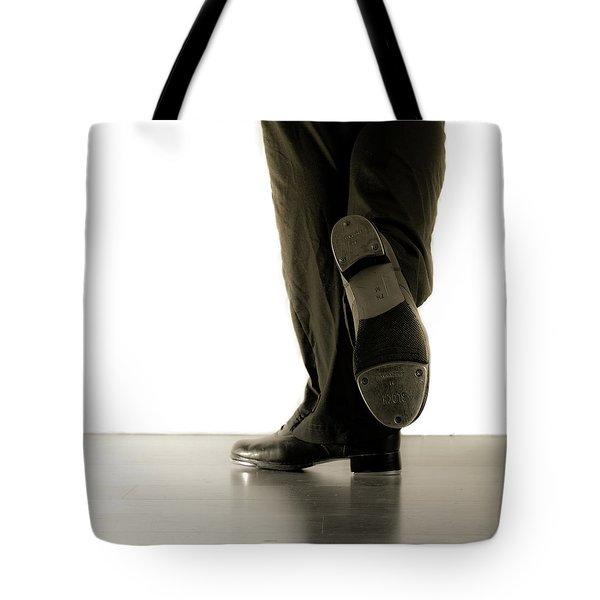 Tap Foot Tote Bag