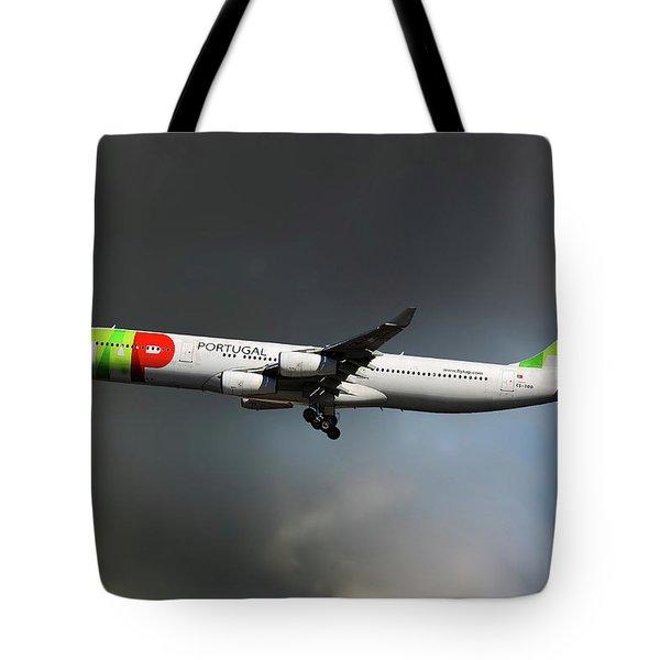 Tap Portugal Tote Bag
