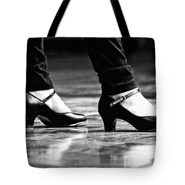 Tap Shoes Tote Bag by Lauri Novak