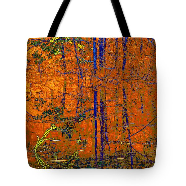 Tapestry Tote Bag by Steve Warnstaff