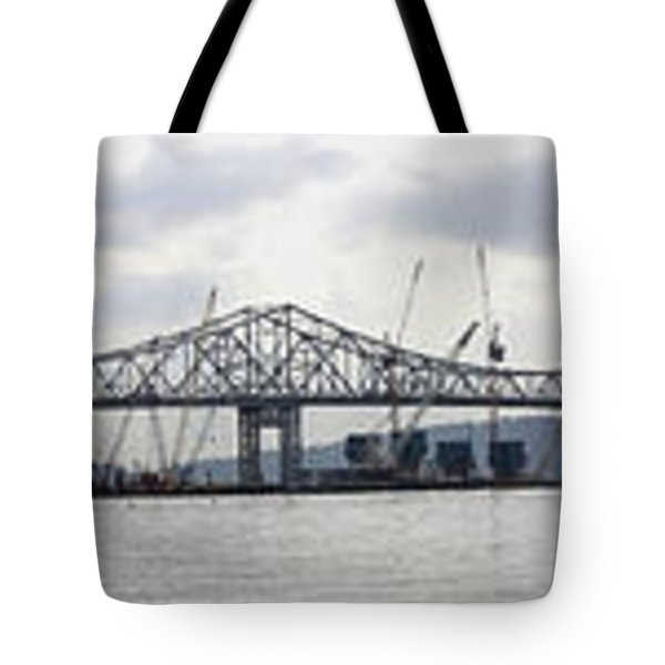 Tappan Zee Bridge From Tarrytown Tote Bag