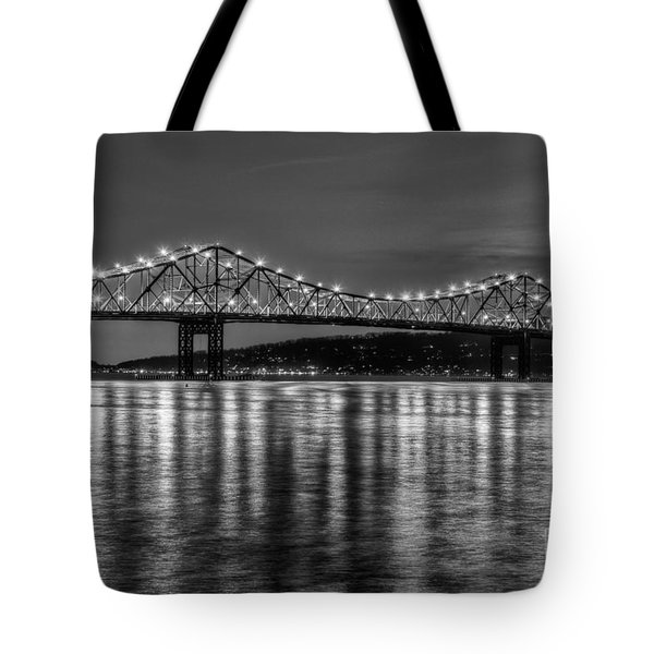 Tappan Zee Bridge Twilight IIi Tote Bag