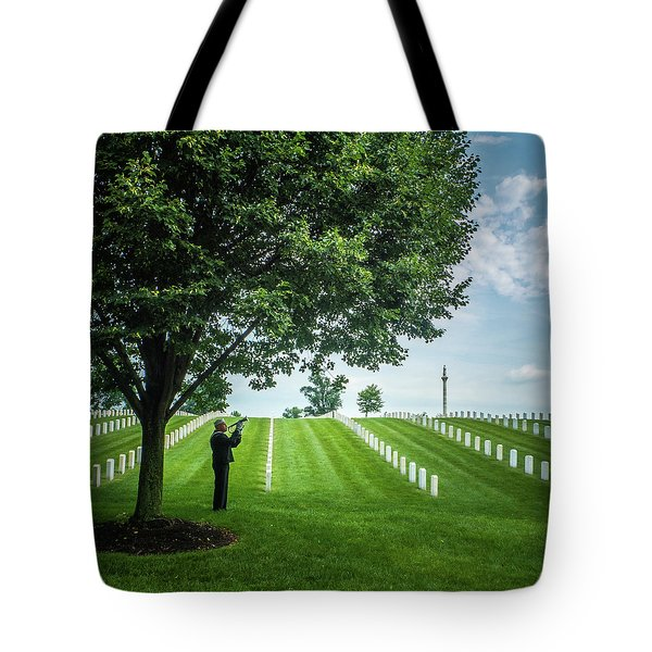 Tote Bag featuring the photograph Taps Color by Al Harden