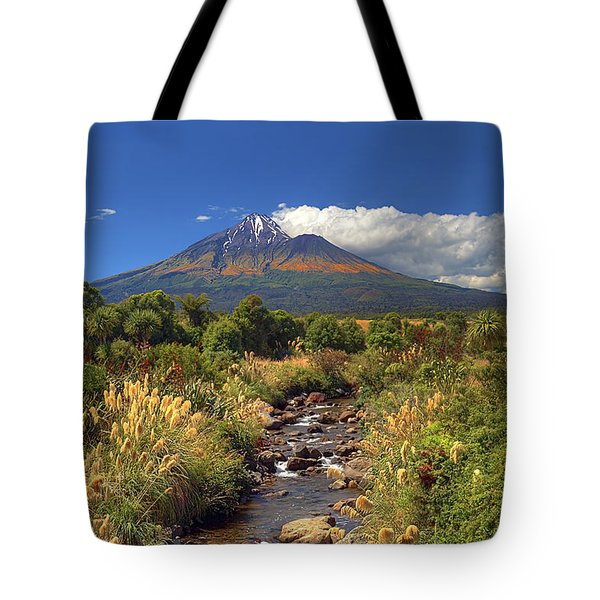 Taranaki Gold Tote Bag