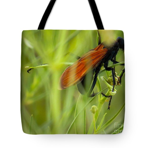 Tarantula Hawk 1 Tote Bag