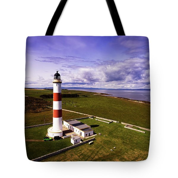 Tarbat Ness Lighthouse Tote Bag