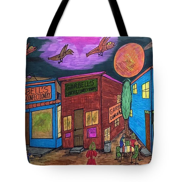 Garbell's Lunch And Confectionery Tote Bag by Jonathon Hansen
