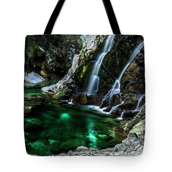 Tarcento's Cascade 5 Tote Bag