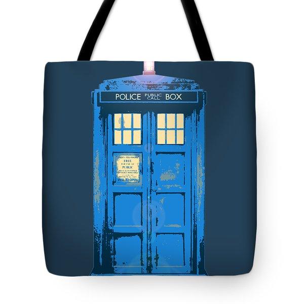 Tardis - Think Inside The Box Tote Bag