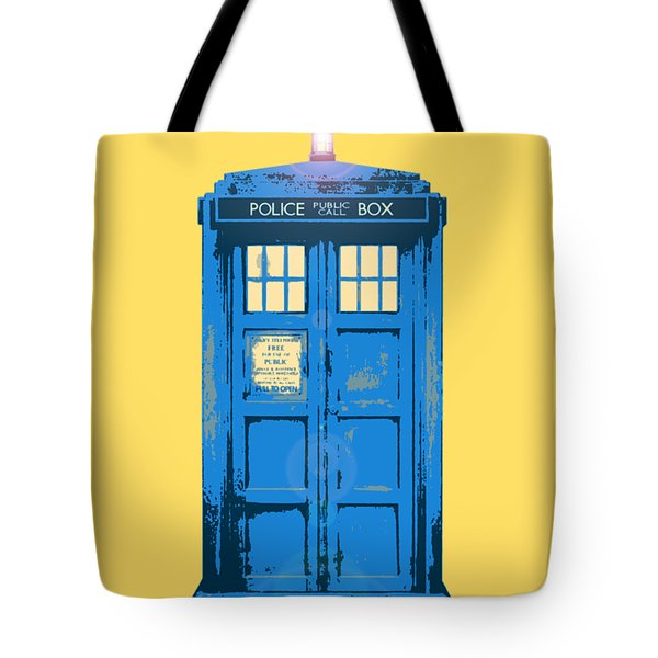 Tardis - Who Ya Gonna Call Tote Bag