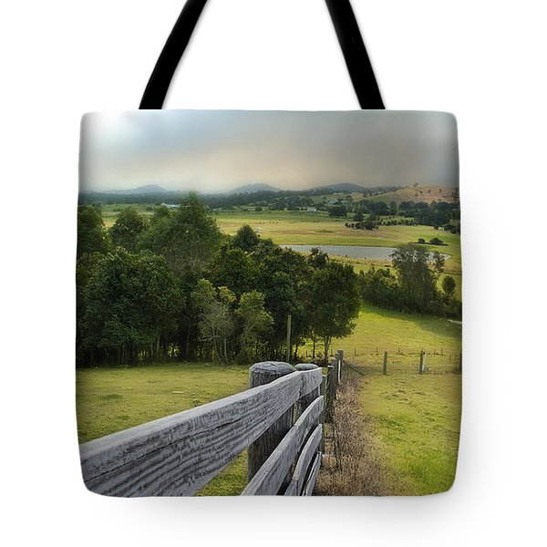 Tote Bag featuring the photograph Taree West 01 by Kevin Chippindall