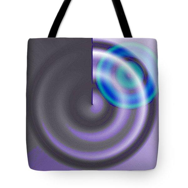 Targe Cool Blue Tote Bag by Susan Baker