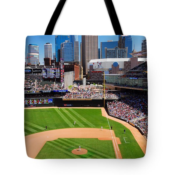 Target Field, Home Of The Twins Tote Bag