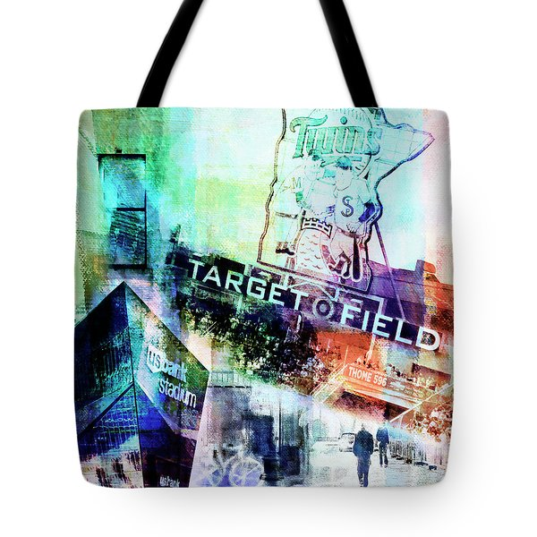 Target Field Us Bank Staduim  Tote Bag