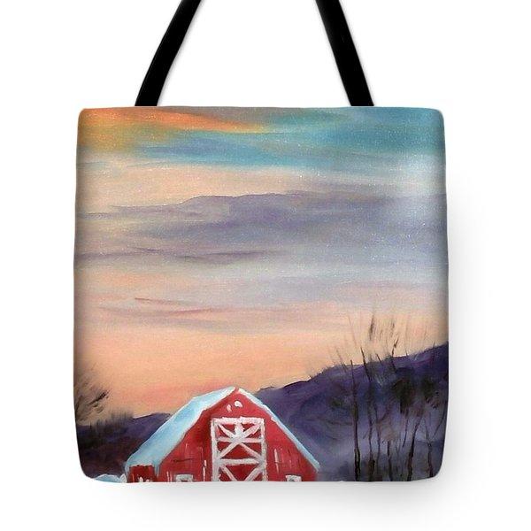 Target Range Barn Tote Bag