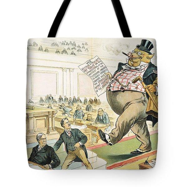 Tariff Lobbyist, 1897 Tote Bag by Granger
