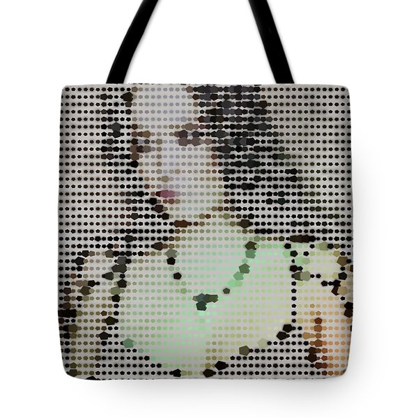 Tote Bag featuring the digital art Tarja 1 by Marko Sabotin