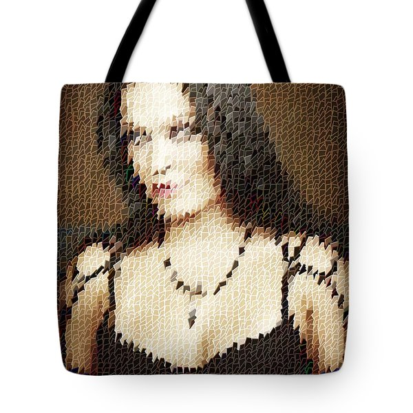 Tote Bag featuring the digital art Tarja 10 by Marko Sabotin