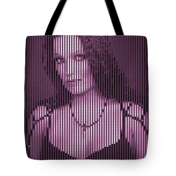 Tote Bag featuring the digital art Tarja 14 by Marko Sabotin