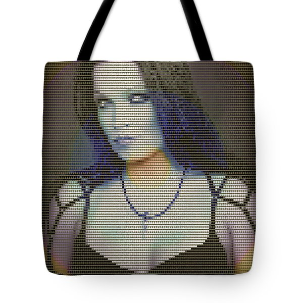 Tote Bag featuring the digital art Tarja 16 by Marko Sabotin