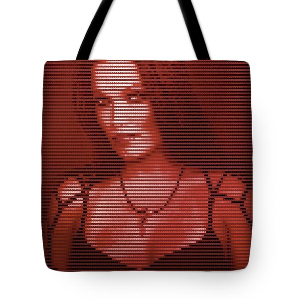 Tote Bag featuring the digital art Tarja 20 by Marko Sabotin