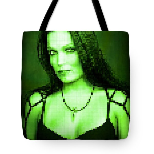 Tote Bag featuring the digital art Tarja 3 by Marko Sabotin