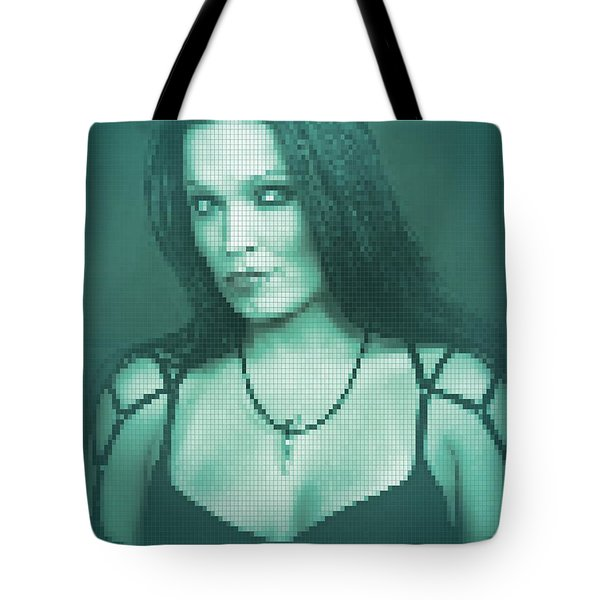Tote Bag featuring the digital art Tarja 6 by Marko Sabotin