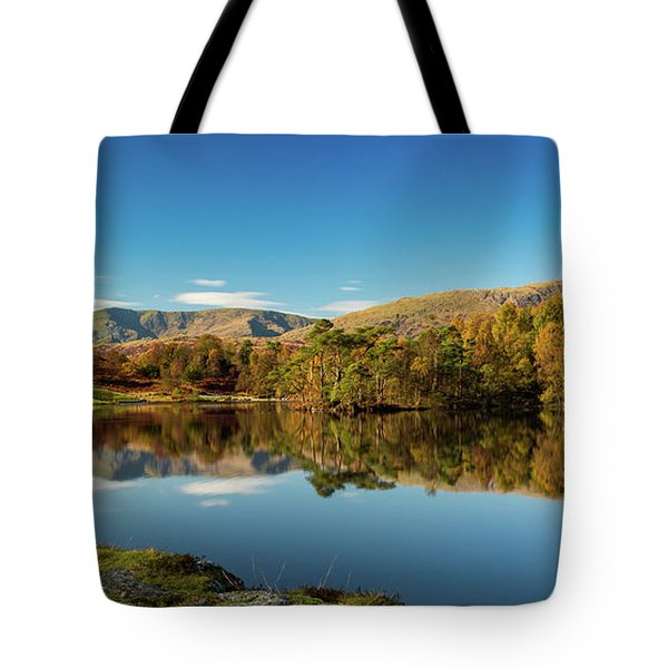 Tarn Hows Tote Bag by Mike Taylor