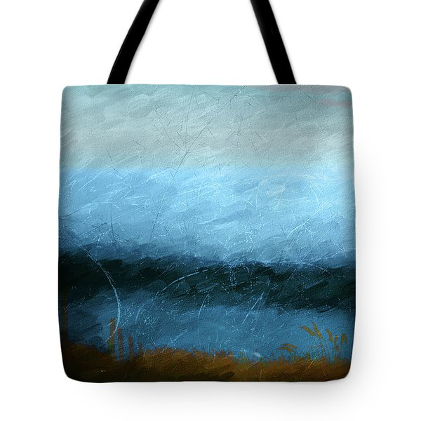 Tote Bag featuring the photograph Tarn by Linde Townsend