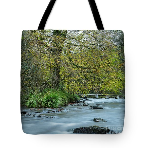 Tarr Steps Clapper Bridge Tote Bag