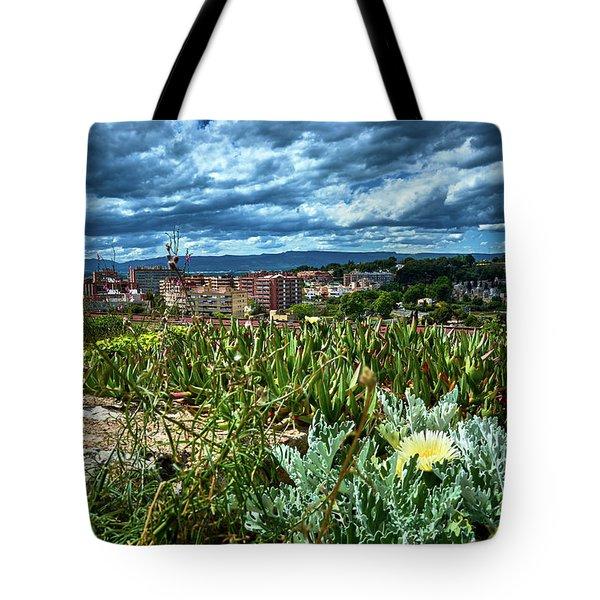 Tarragona From The Roman Wall Tote Bag